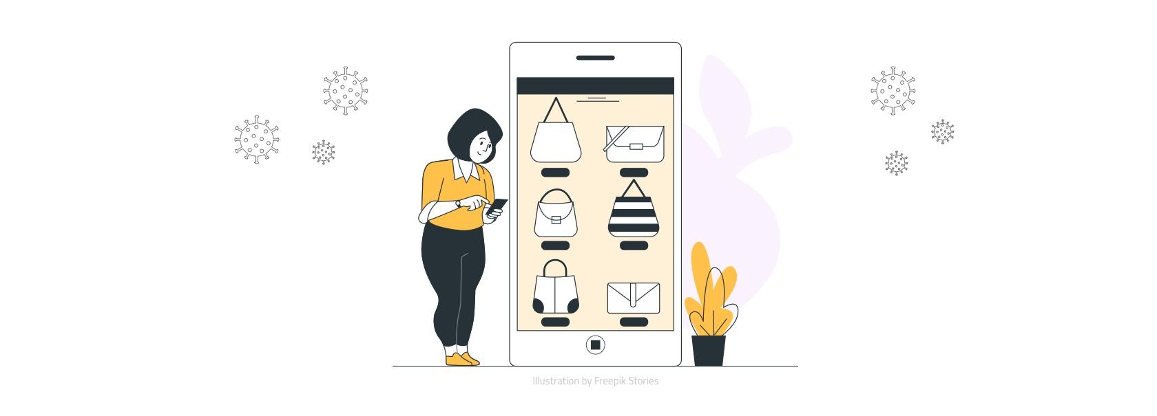 covid 19 : impact sur le e-commerce et le click and collect